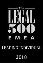 Recommended Lawyer by Legal 500
